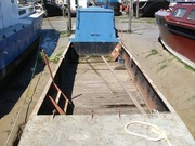 Narrow Work Boat for sale