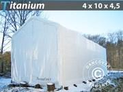 Boat Shelter Titanium 4x10x3.5x4.5 m