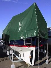 tarpaulin 5x6 m PVC 570 g/m². Green