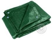 Tarpaulin 8x10 m PE 150 g/m². Green