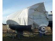 tarpaulin 6x14 m PE 300 g/m²,  white