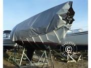 tarpaulin 10x12 m PVC 500 g/m² Grey