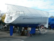 Deck frame for boat cover,  NOA 13 m