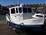 Fishing Boat / Cruising Houseboat - Triton