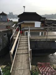 Unusual Static Houseboat Project - Marmite